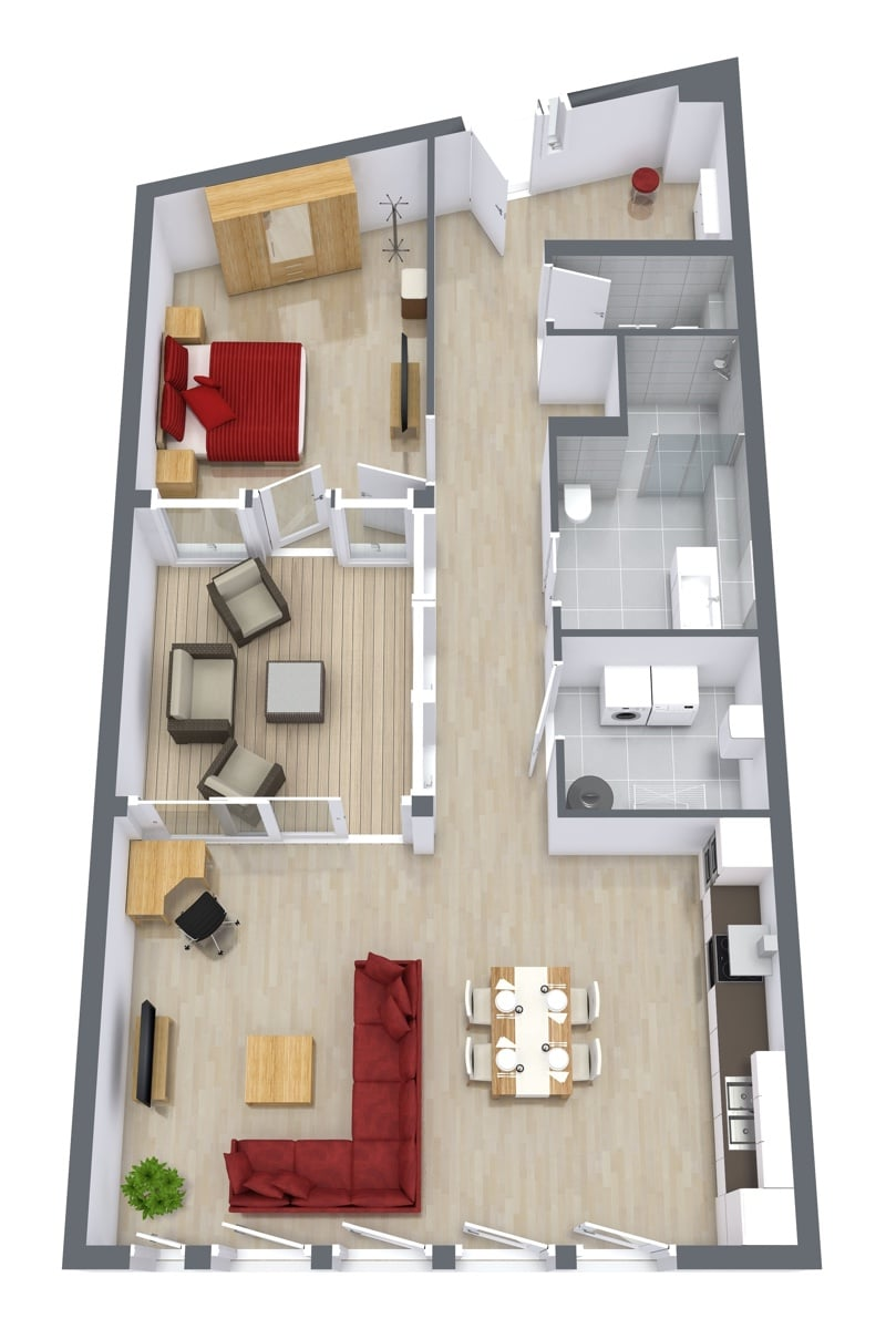 Penthouse 4.5 - Floor Plan